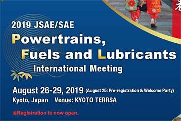 JSAE 2019 Powertrains, Fuels & Lubricants Meeting