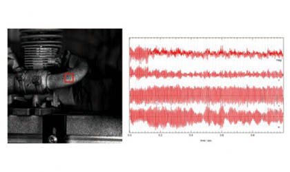 【測定事例紹介】~デジタル画像相関法によるエンジンの振動解析~